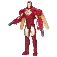 MARVEL IRON MAN 3 TITAN HERO SERIES Avengers Initiative Classic Series Air Attack IRON MAN Figure