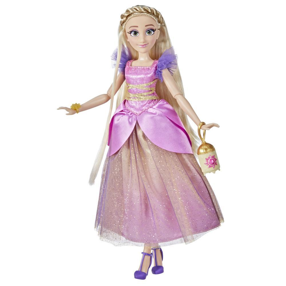 Disney Princess Style Series 10 Rapunzel, Contemporary Style Fashion Doll, Clothes and Accessories, Toy for Girls 6 and Up