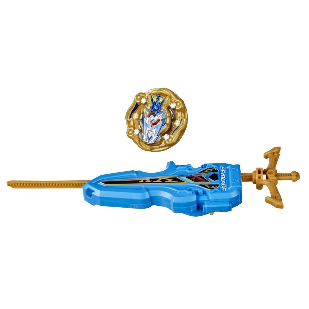 Beyblade Burst Rise Hypersphere Apocalypse Blade Set -- Right/Left-Spin Launcher with Right-Spin Battling Top Toy