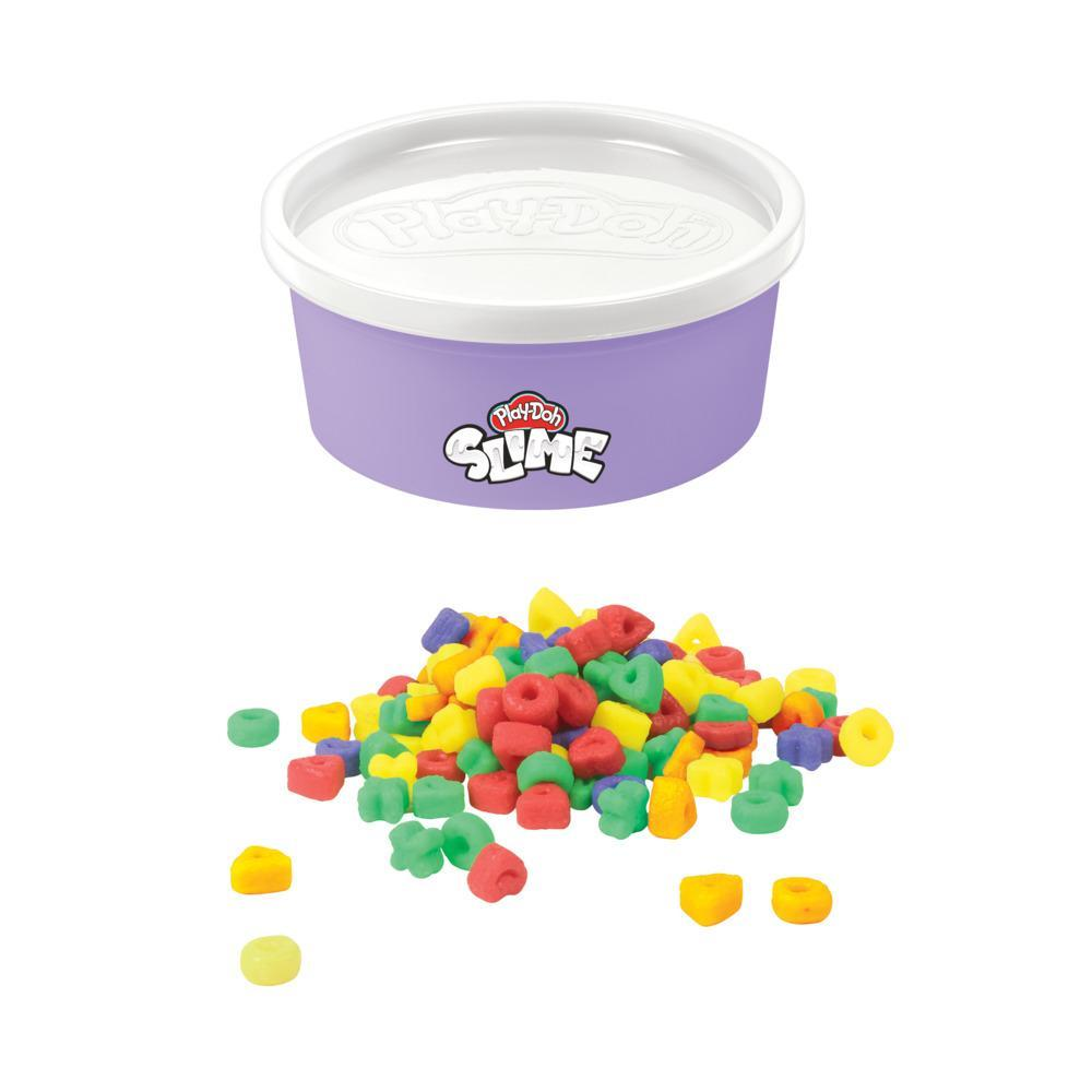 Play-Doh Slime Rainb-Os Cereal Themed Slime Compound, 4.5-ounce Can with Plastic Cereal Bits, Non-Toxic