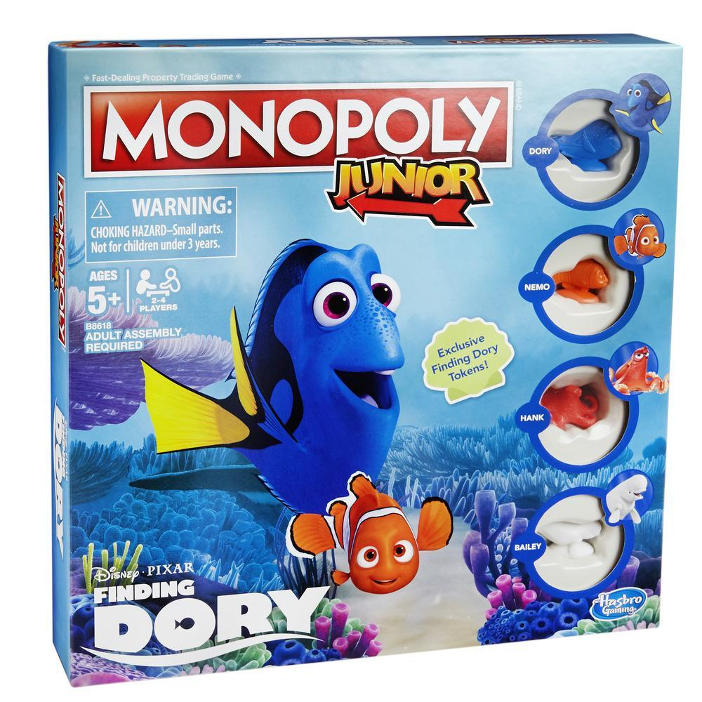 Monopoly Junior: Disney/Pixar Finding Dory Edition