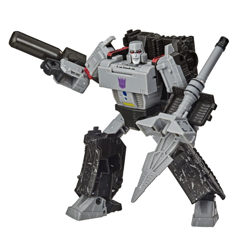 Transformers Toys Generations War for Cybertron: Earthrise Voyager WFC-E38 Megatron, 7-inch