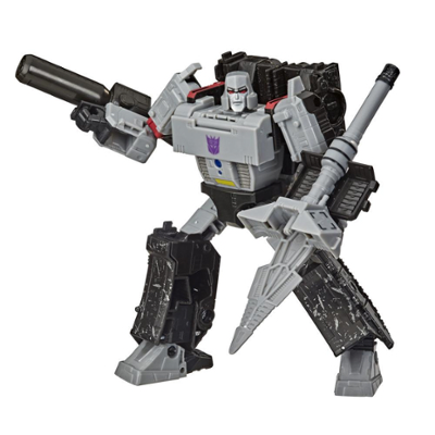 Transformers Toys Generations War for Cybertron: Earthrise Voyager WFC-E38 Megatron, 7-inch Product