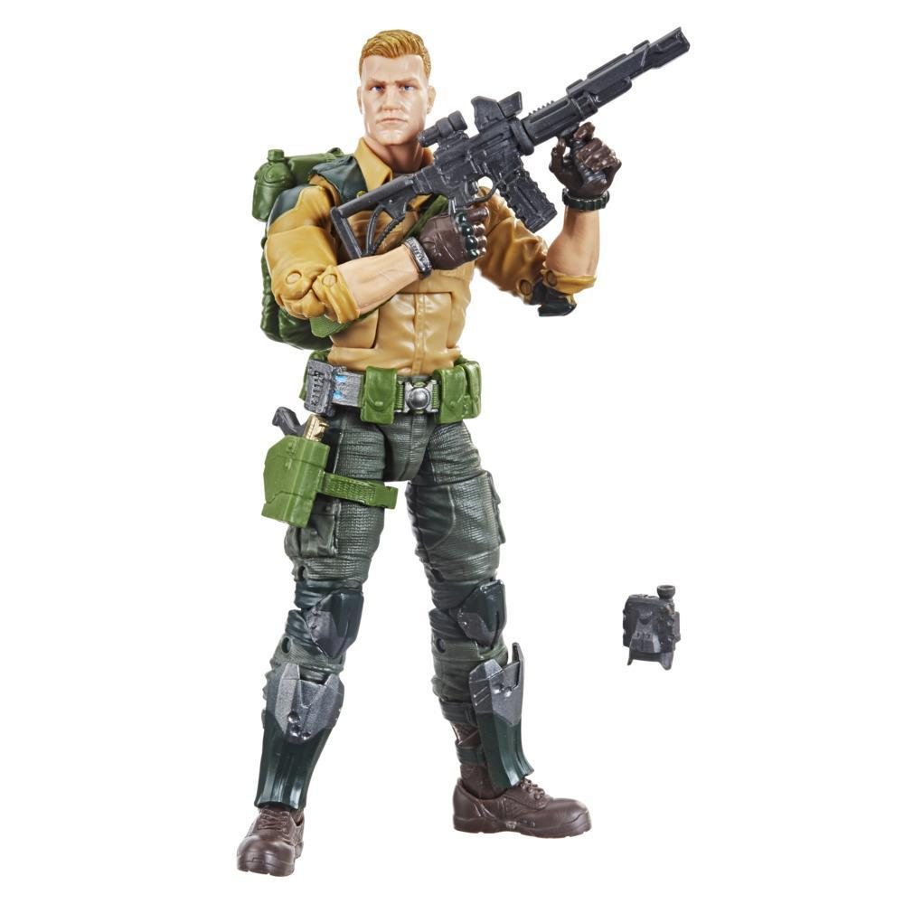 G.I. Joe Classified Series Series Duke Field Variant Action Figure 04 Collectible Toy, Accessories, Custom Package Art