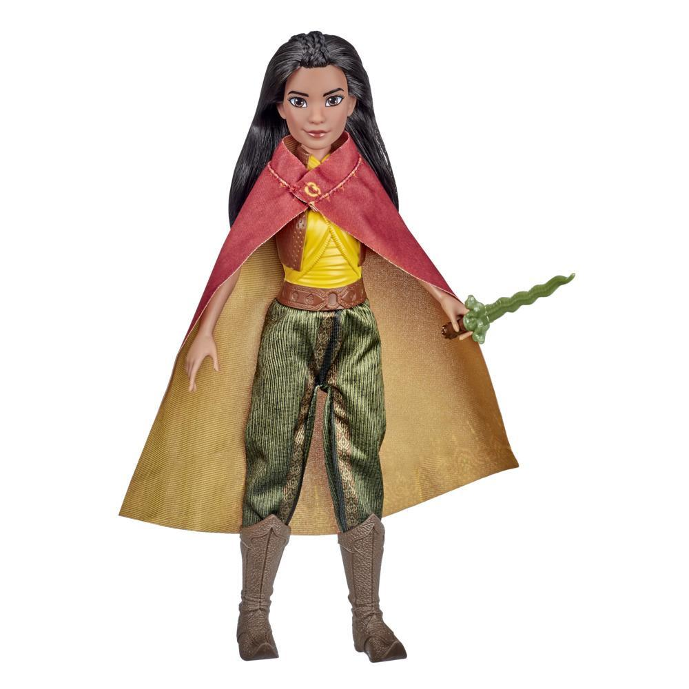 Disney Raya Fashion Doll with Clothes, Shoes, and Sword, Toy Inspired by Disney's Raya and the Last Dragon Movie