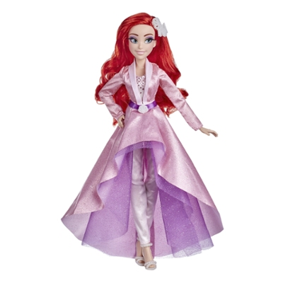 Disney Princess Style Series 07 Ariel, Fashion Doll in Contemporary Style with Accessories, Toy for Girls 6 Years and Up