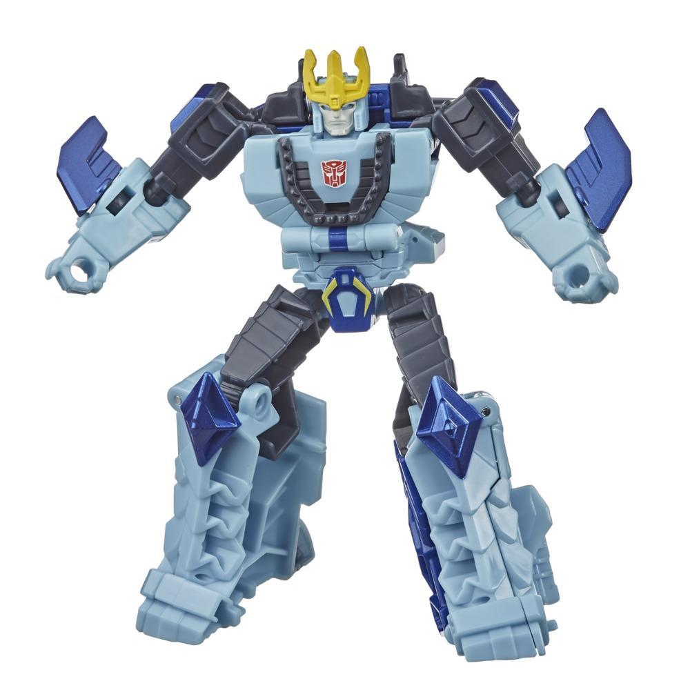 Transformers Bumblebee Cyberverse Adventures Action Attackers Warrior Class Hammerbyte Action Figure, 5.4-inch