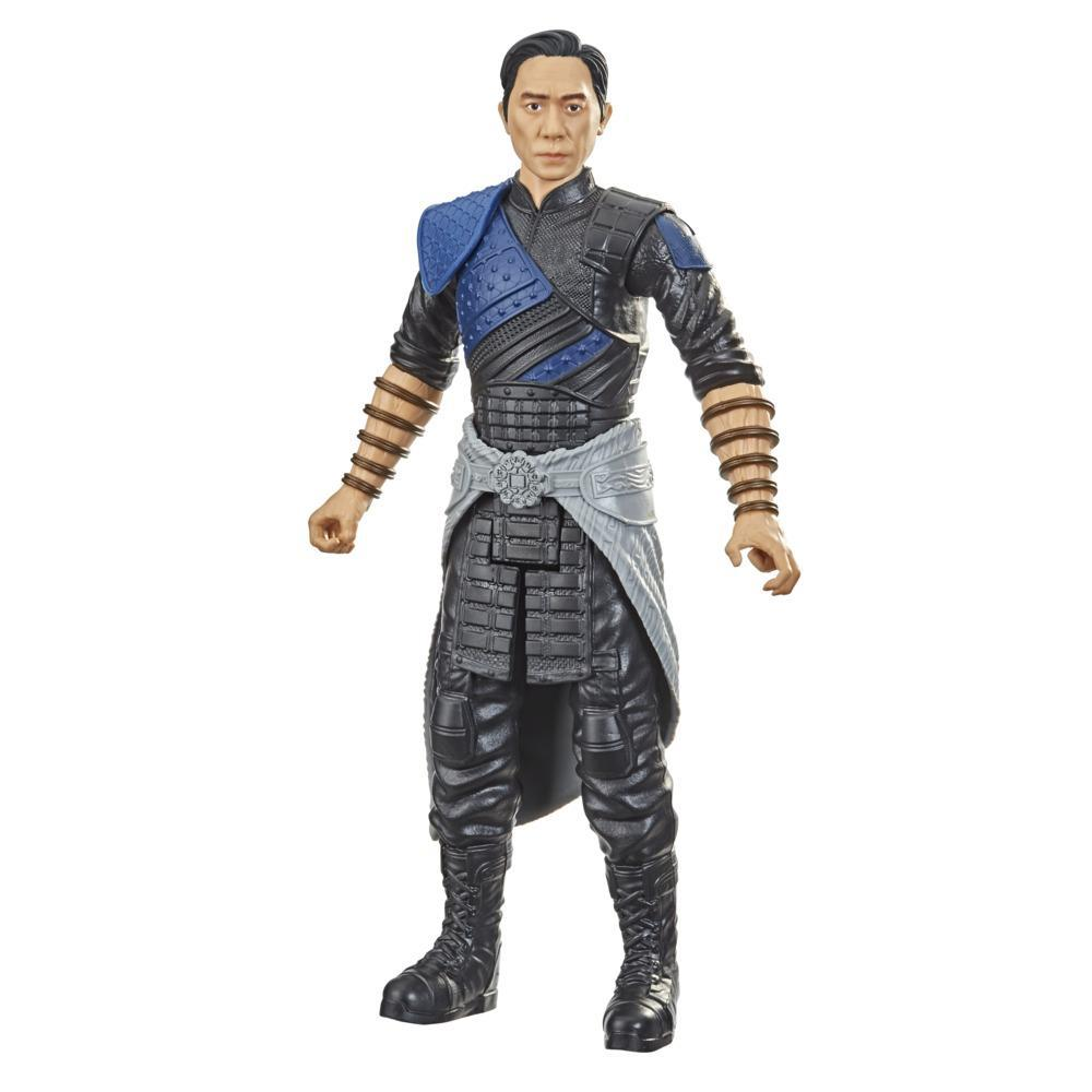 Hasbro Marvel Titan Hero Series Shang-Chi and the Legend of the Ten Rings Action Figure 12-inch Toy Wenwu For Kids Age 4 and Up