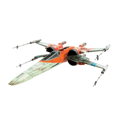 Star Wars The Vintage Collection Star Wars: The Rise of Skywalker Poe Dameron's X-Wing Fighter Vehicle, Ages 4 and Up
