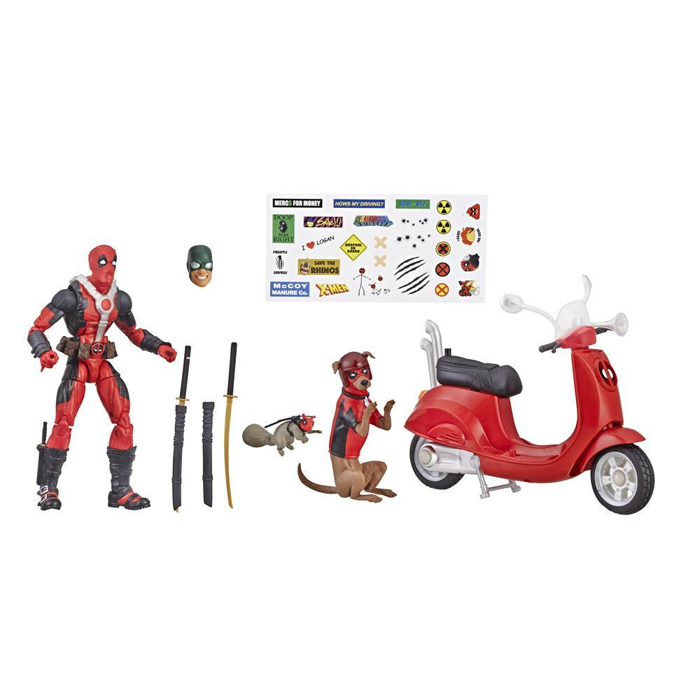 Marvel Legends Series 6-inch Deadpool with Scooter