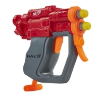 Nerf MicroShots Halo SPNKr -- Mini Dart-Firing Blaster and 2 Nerf Darts