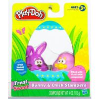 PLAY-DOH TREAT WITHOUT THE SWEET Bunny and Chick Stampers (Purple)