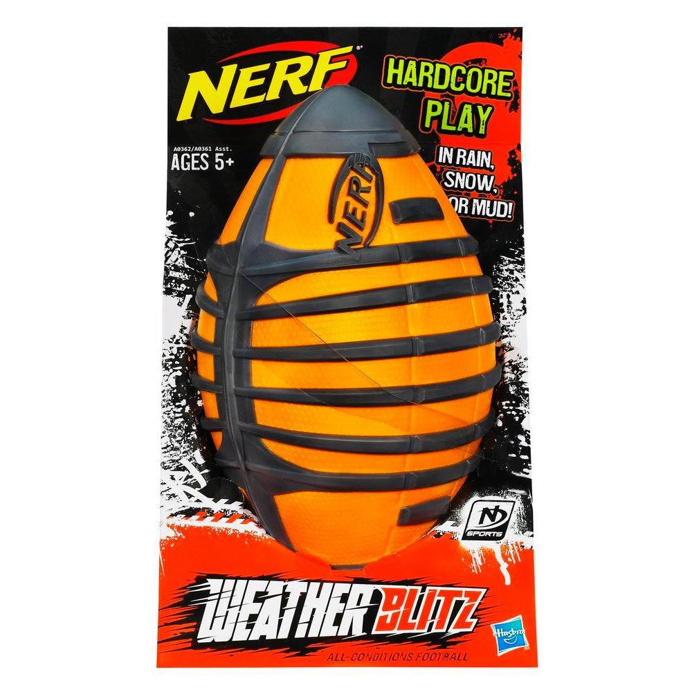 Nerf Sports Weather Blitz Football (Orange)
