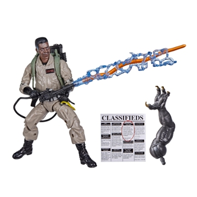Ghostbusters Plasma Series Winston Zeddemore Toy 6-Inch-Scale Collectible Ghostbusters: Afterlife Figure, Ages 4 and Up