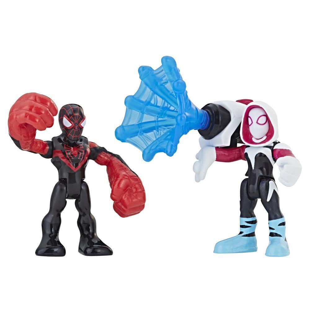 Playskool Heroes Marvel Super Hero Adventures Kid Arachnid and Spider-Gwen