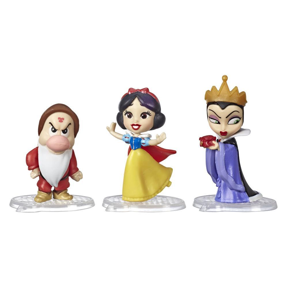 Disney Princess Comics Dolls, Snow White's Story Moments Number 1 Wish with Evil Queen and Grumpy, 3 Toys and Comic