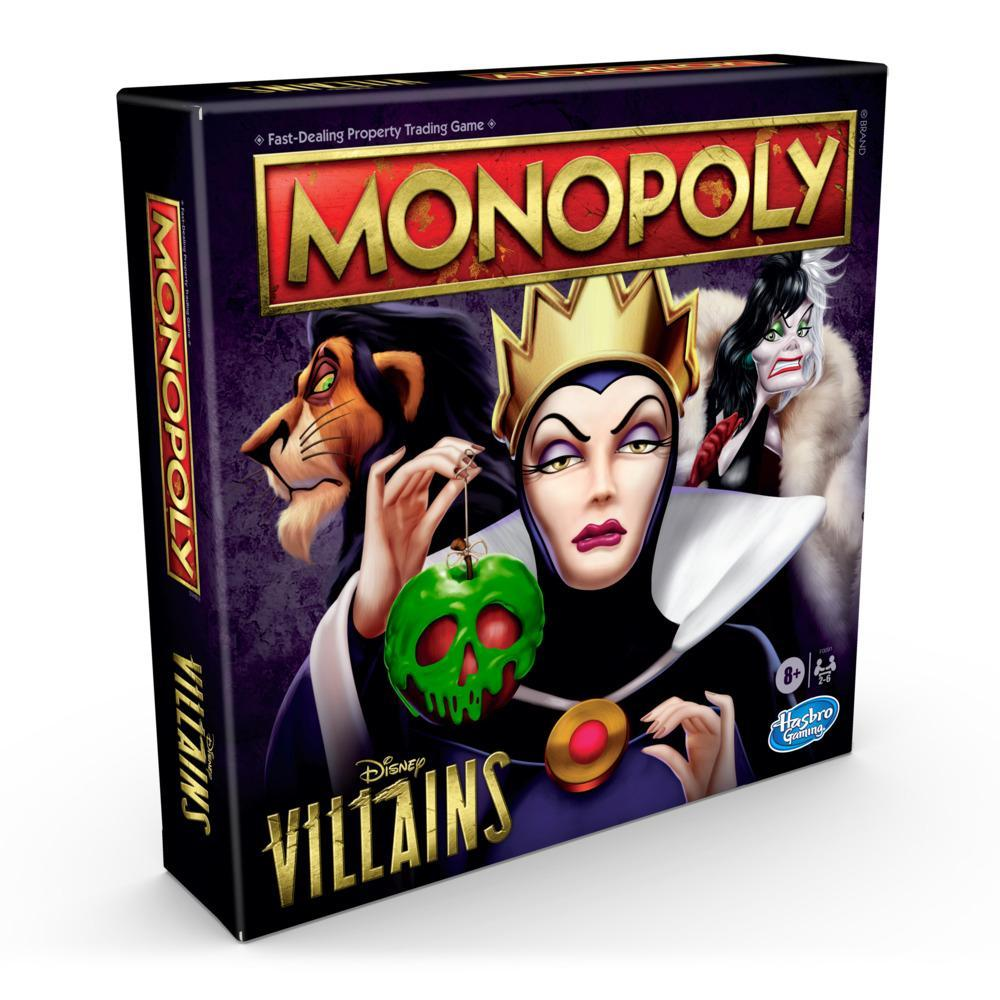 Monopoly: Disney Villains Edition Board Game for Ages 8 and Up