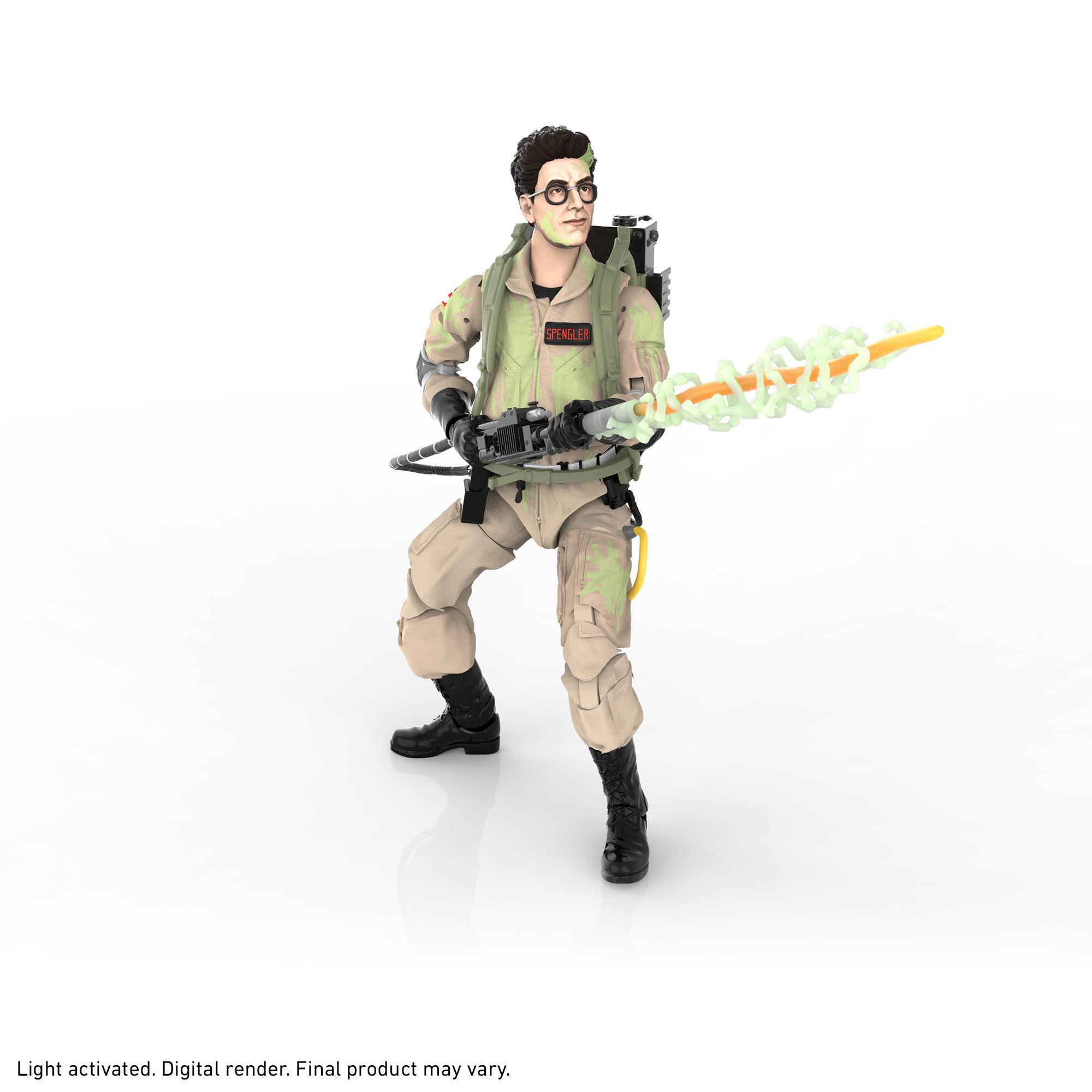 Ghostbusters Plasma Series Glow-in-the-Dark Egon Spengler Toy 6-Inch-Scale Collectible Classic 1984 Ghostbusters Figure