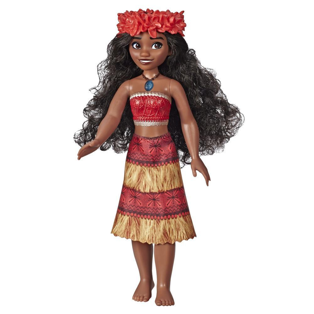 Disney Princess Musical Moana Fashion Doll with Shell Necklace, Sings