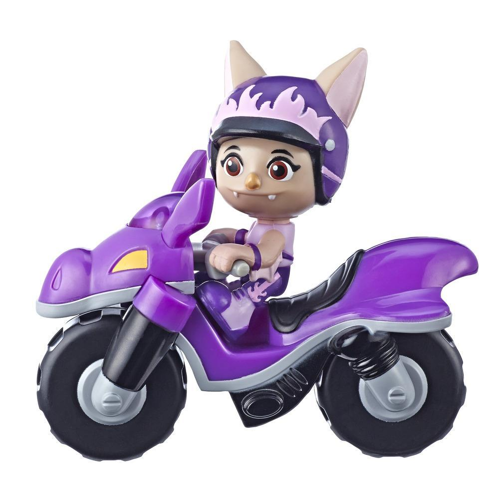 Top Wing Figure and Vehicle Betty Bat's Dirt Bike with Removable 3-Inch Figure from the Nick Jr. Show, Great Toy for Kids Ages 3 to 5