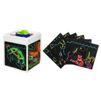 LITE BRITE Four-Share Cube