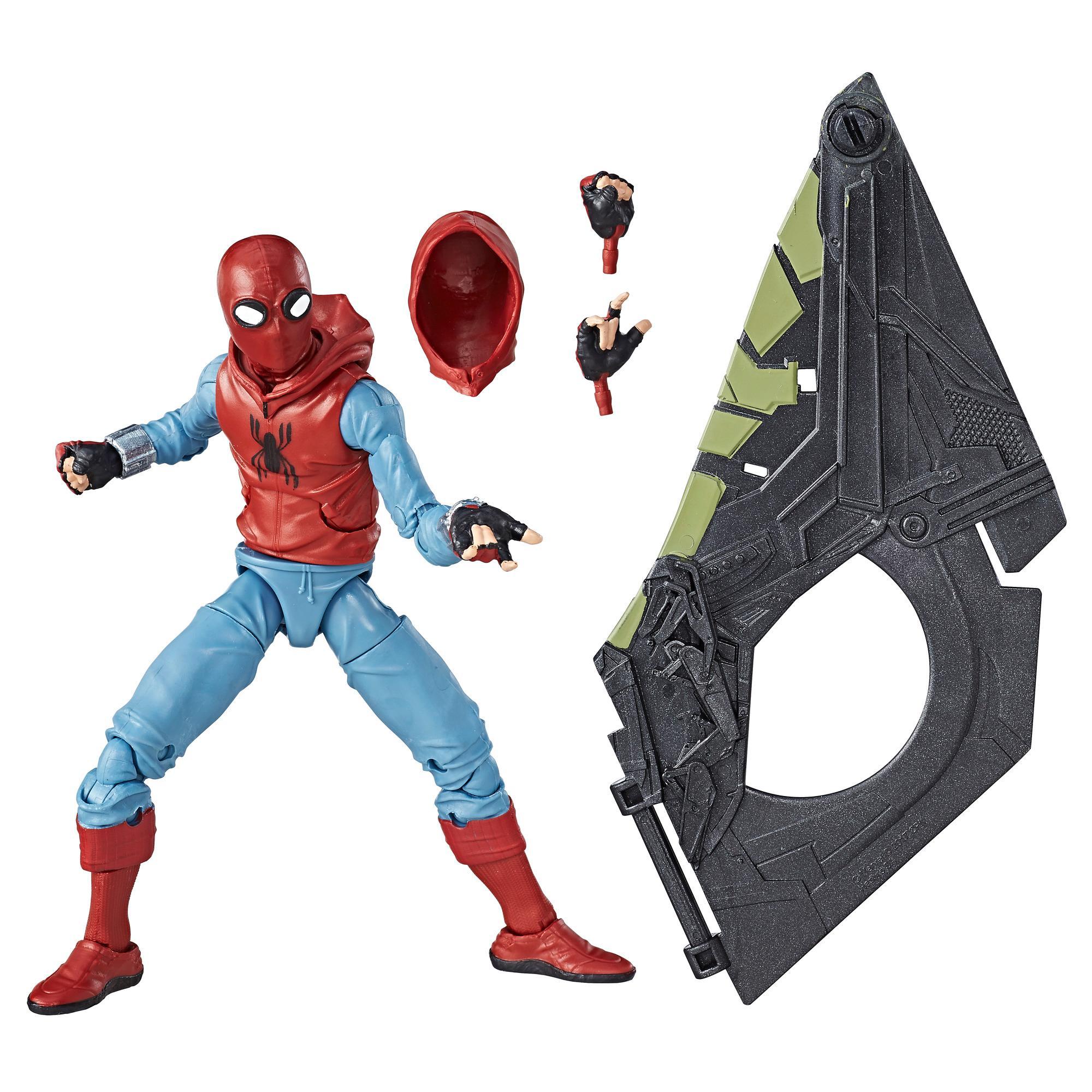 Marvel Spider-Man 6-inch Legends Series Spider-Man (Homemade Suit)