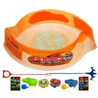 BEYBLADE METAL FURY HYPERBLADES HYPER-STRIKE BATTLE SET