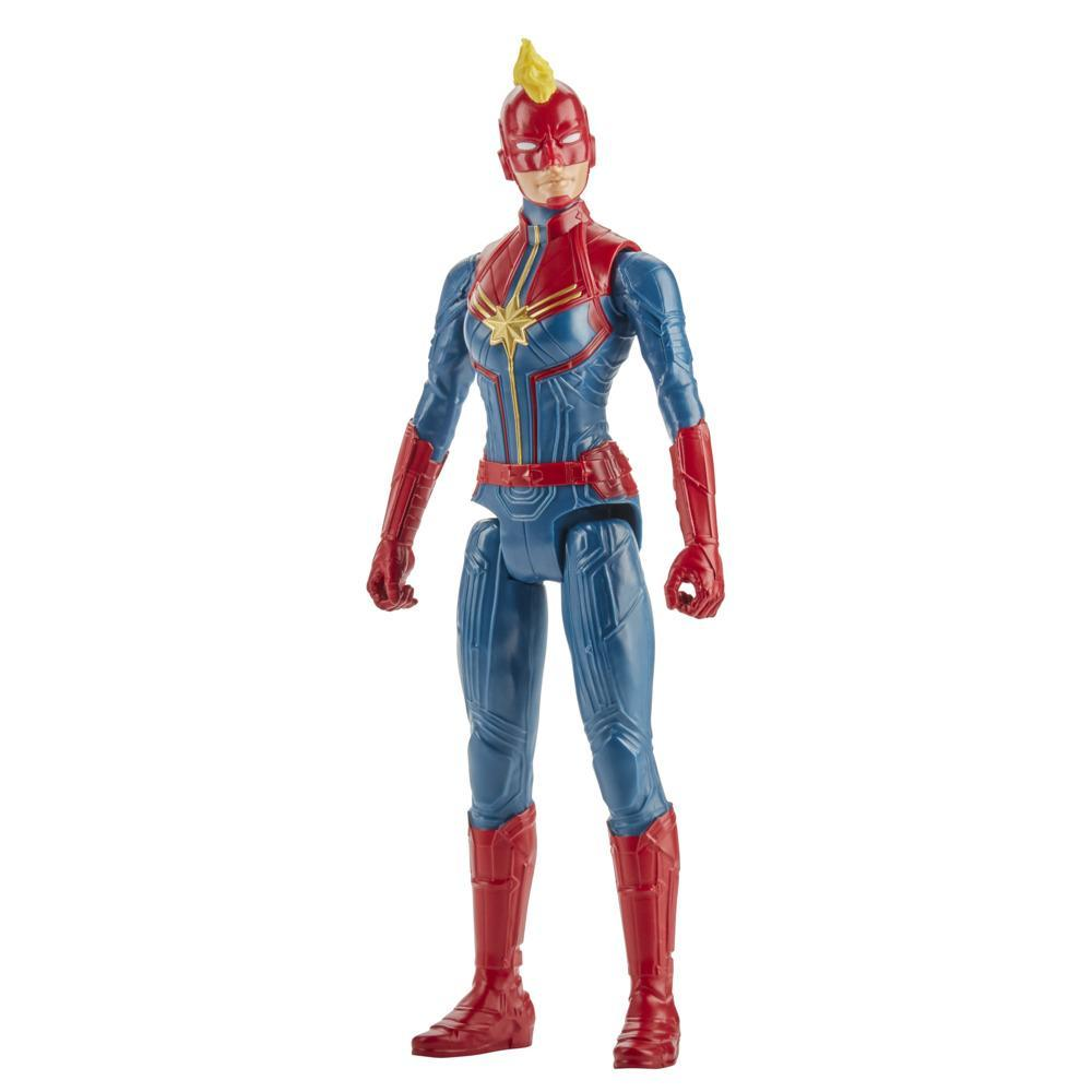 Marvel Avengers Titan Hero Series Captain Marvel Action Figure, 12-Inch Toy, For Kids Ages 4 And Up