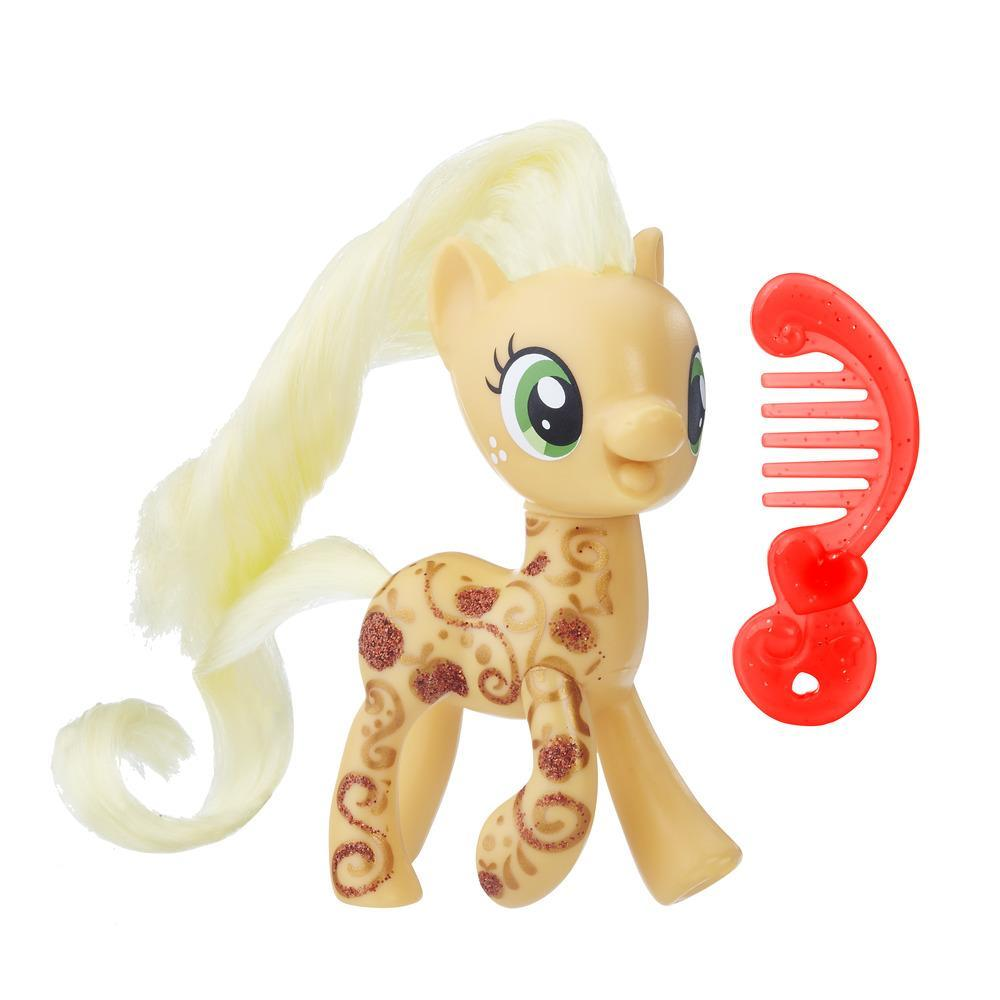 My Little Pony Applejack Glitter Design Pony Figure