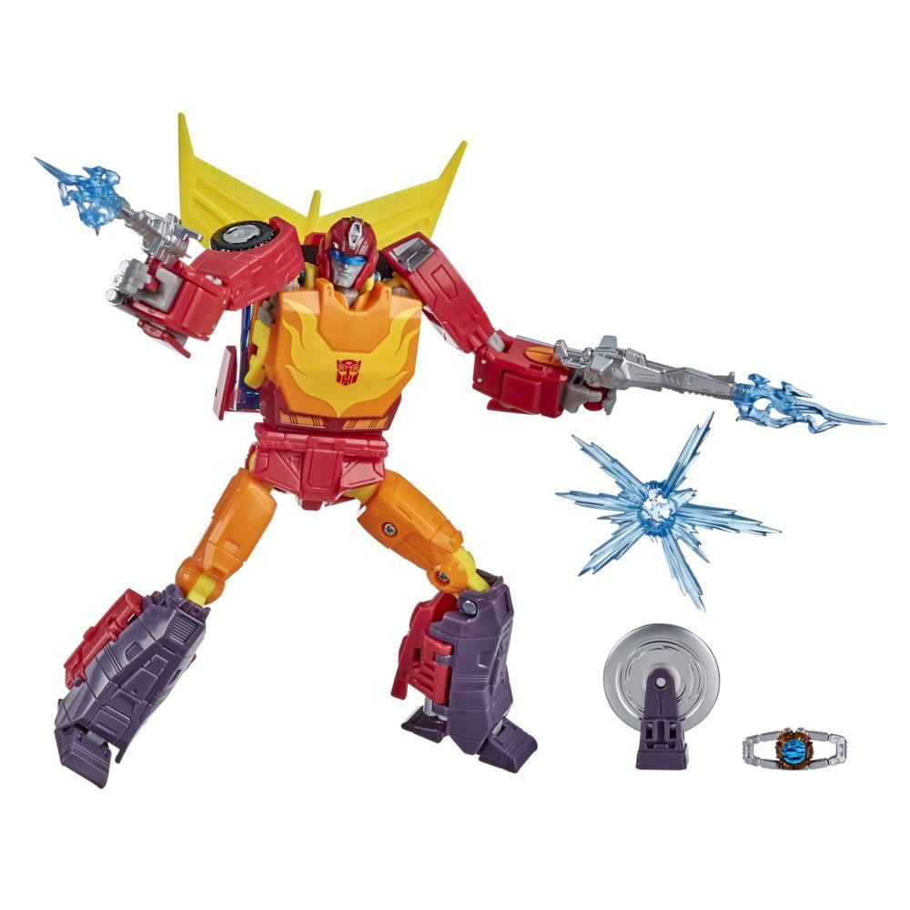 Transformers Toys Studio Series 86 Voyager The Transformers: The Movie Autobot Hot Rod Action Figure, 8 and Up, 6.5-inch