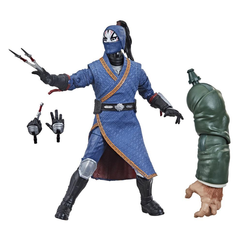 Hasbro Marvel Legends Series Shang-Chi And The Legend Of The Ten Rings 6-inch Collectible Death Dealer Action Figure Toy For Age 4 and Up
