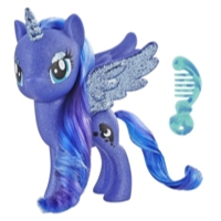 My Little Pony Toy Princess Luna – Sparkling 6-inch Figure for Kids Ages 3 Years Old and Up