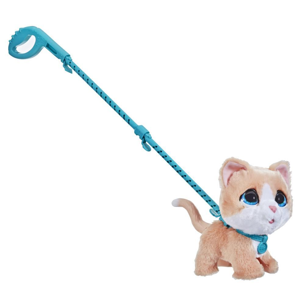 furReal Walkalots Big Wags Interactive Kitty Toy, Ages 4 and up