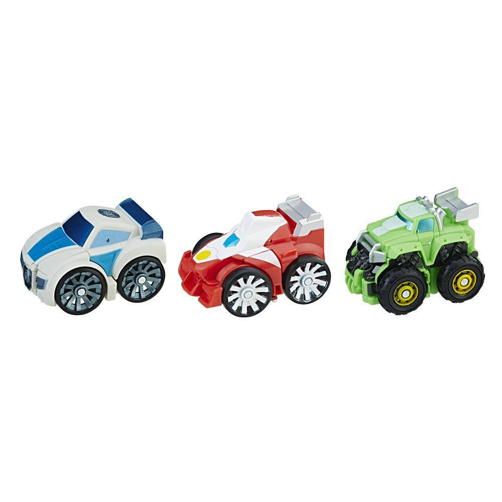 Playskool Heroes Transformers Rescue Bots Flip Racers Griffin Rock Stunt Team