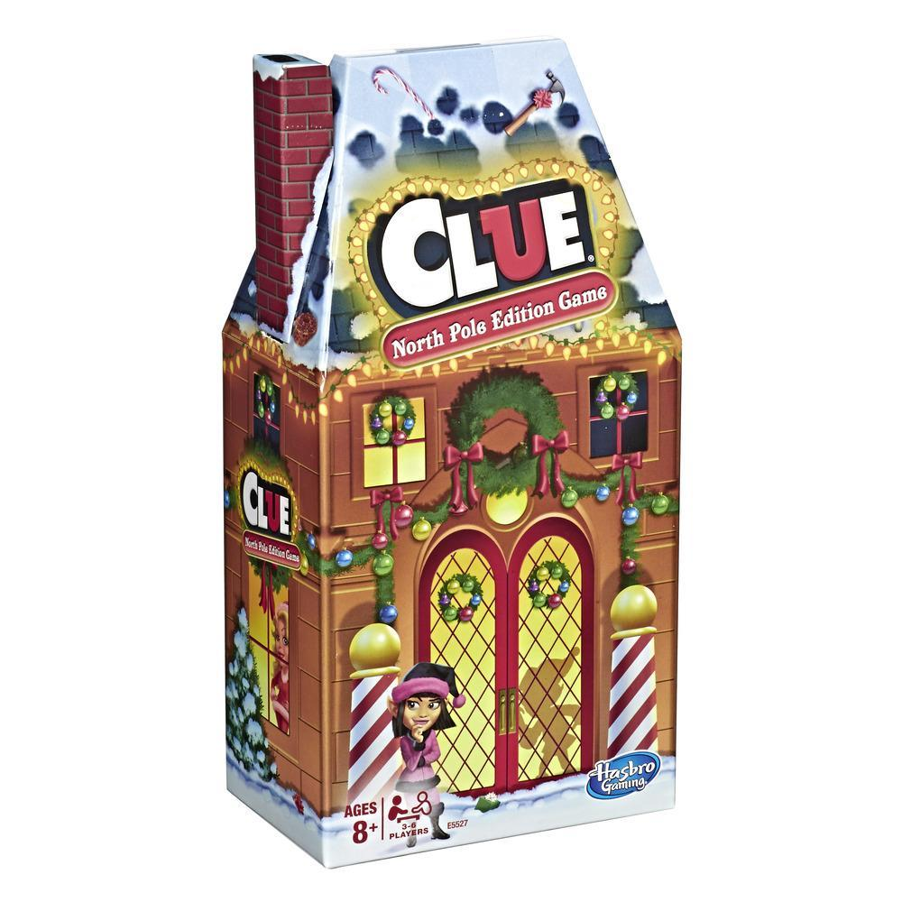 Clue: North Pole Holiday Edition Board Game