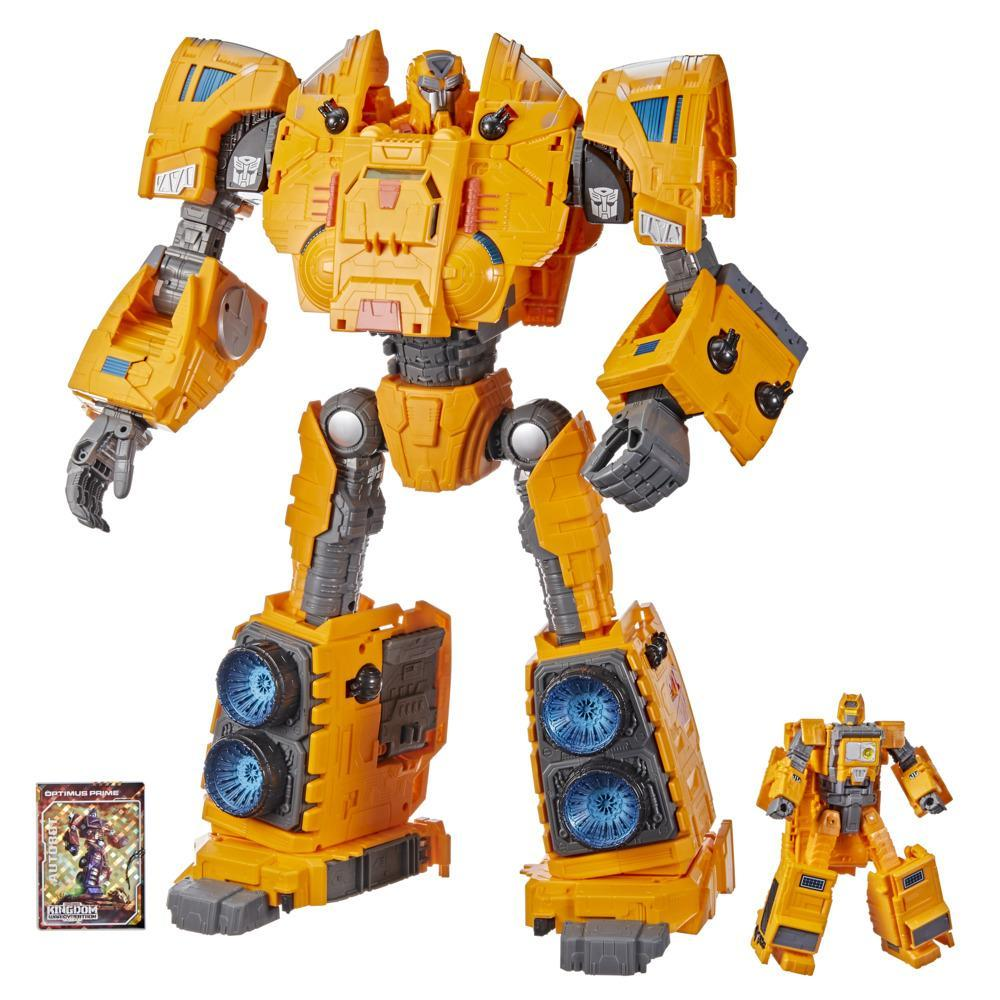 Transformers Toys Generations War for Cybertron: Kingdom Titan WFC-K30 Autobot Ark Action Figure - 15 and Up, 19-inch