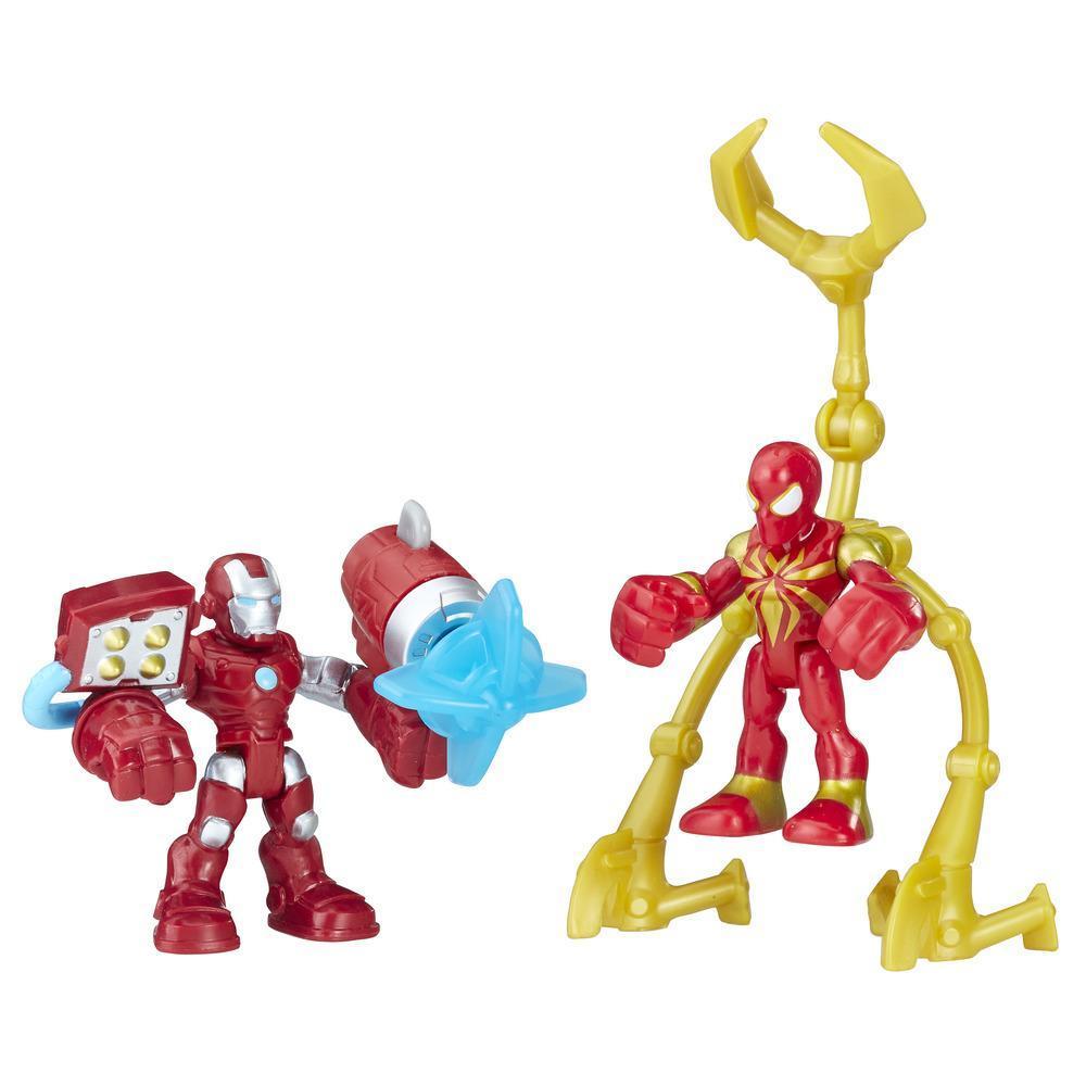 Playskool Heroes Marvel Super Hero Adventures Iron Man and Iron Spider