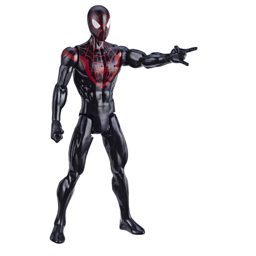 Marvel Spider-Man: Titan Hero Series Miles Morales 12-Inch-Scale Super Hero Action Figure Toy