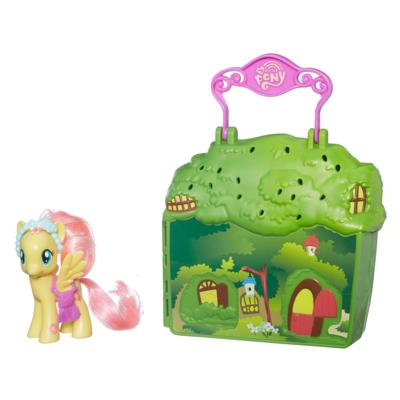 My Little Pony Friendship is Magic Fluttershy Cottage Playset