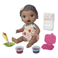 Baby Alive Super Snacks Snackin' Lily Dark Brown Hair