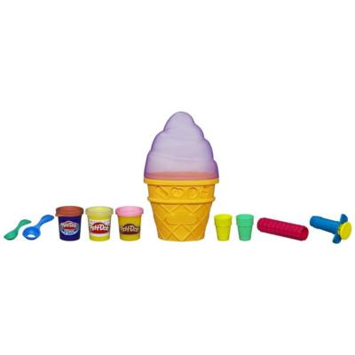 Play-Doh Sweet Shoppe Ice Cream Cone Container Assortment