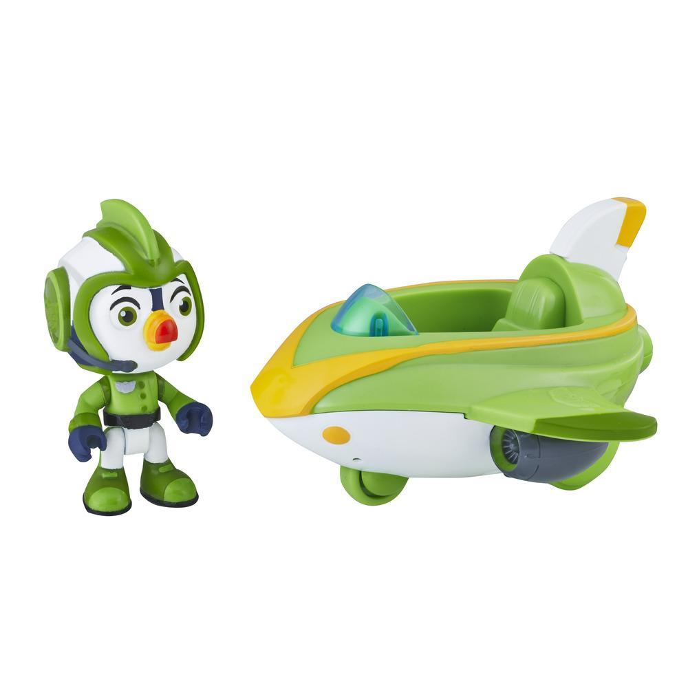 Top Wing Brody figure and vehicle