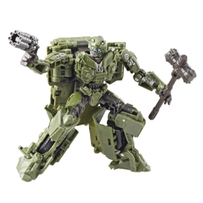 Transformers Studio Series 26 Deluxe Class Transformers: The Last Knight WII Bumblebee Action Figure