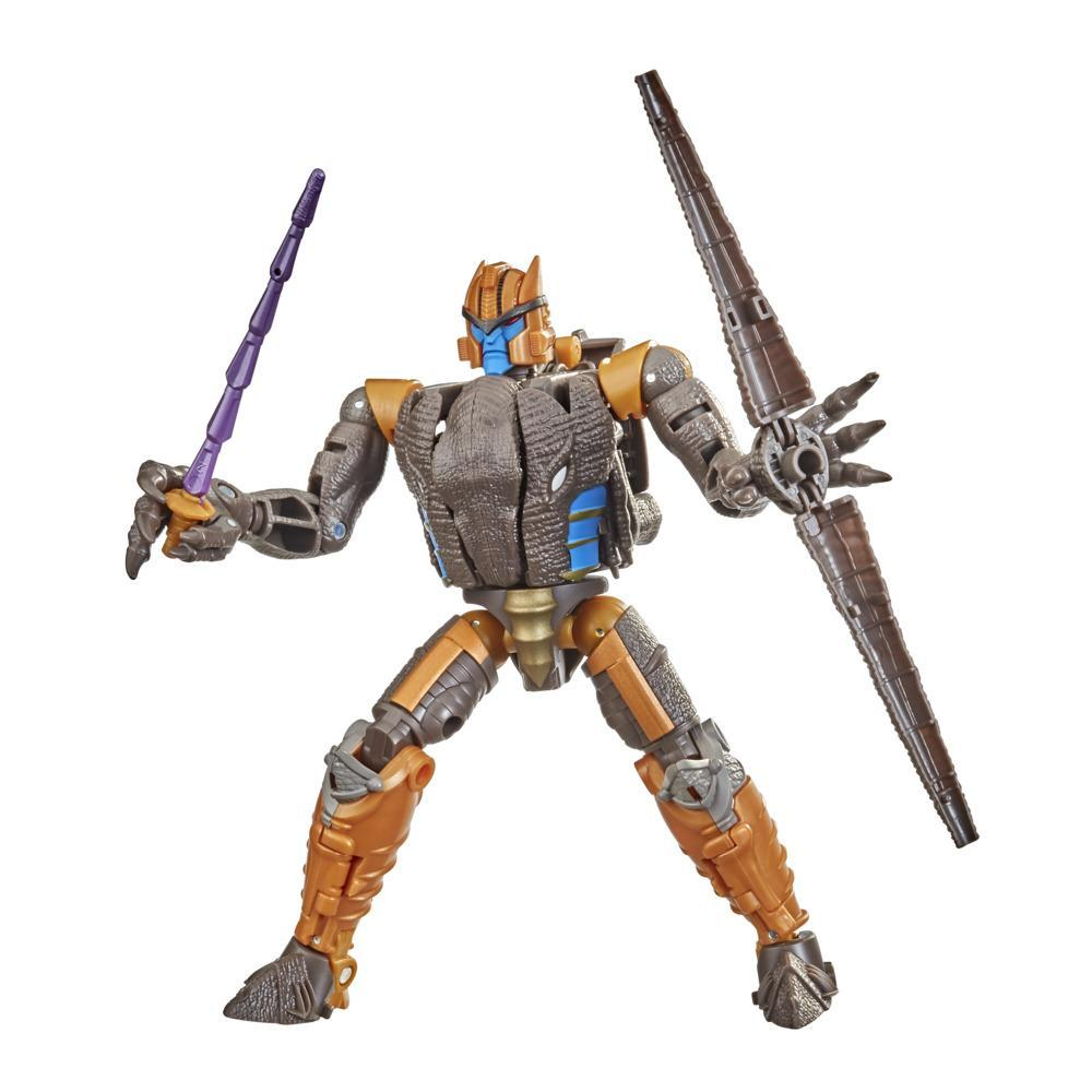 Transformers Toys Generations War for Cybertron: Kingdom Voyager WFC-K18 Dinobot Action Figure - 8 and Up, 7-inch