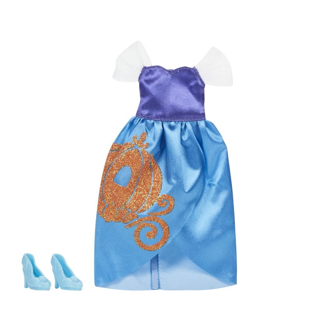 Disney Princess Be Bright Be Bold Cinderella Fashion Pack, Blue Dress with Shoes for Disney Princess Fashion Doll Toy