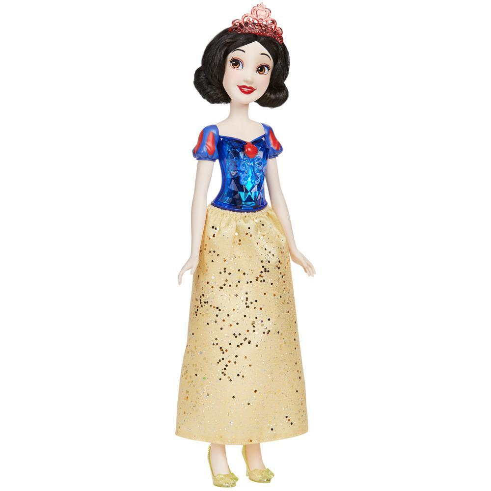 Disney Princess Royal Shimmer Snow White Doll, Fashion Doll with Skirt and Accessories, Toy for Kids Ages 3 and Up