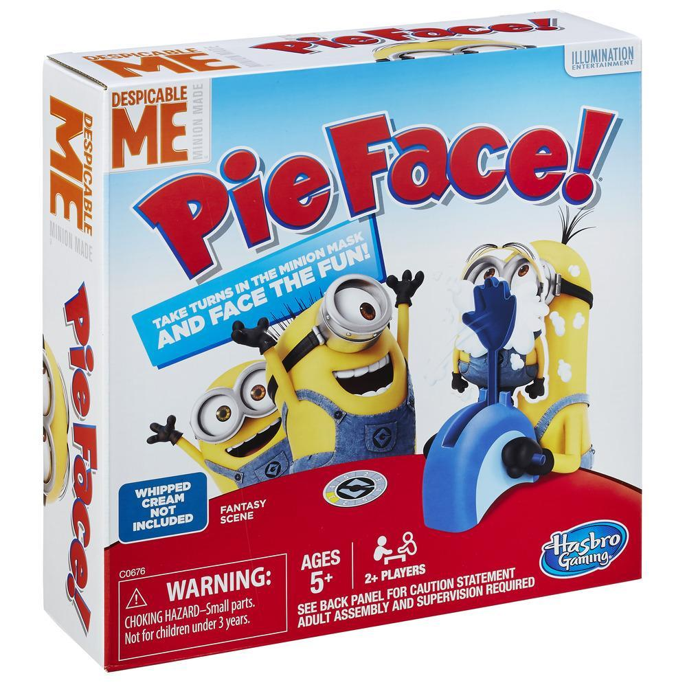 Pie Face Game Despicable Me Minion Made Edition
