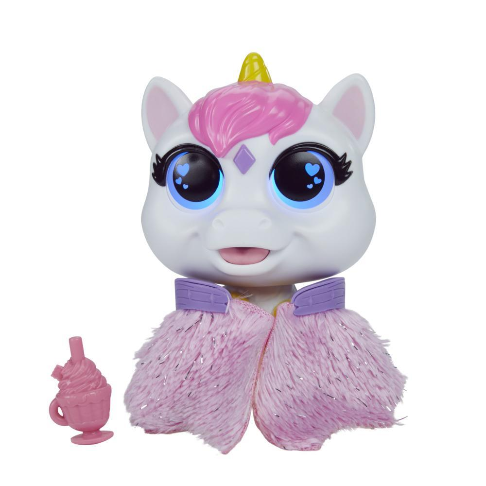 furReal Airina the Unicorn Color-Change Interactive Feeding Toy, Ages 4 and up