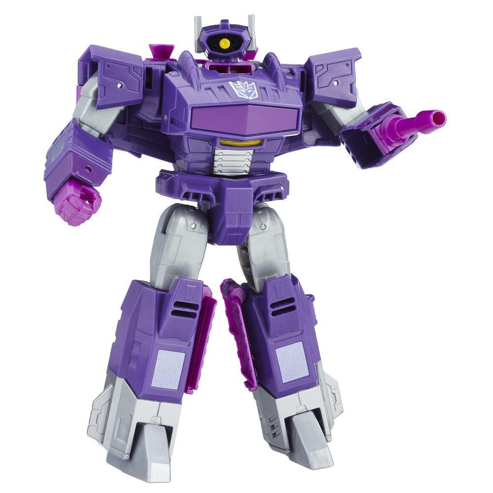 Transformers: Cyber Battalion Series Decepticon Shockwave