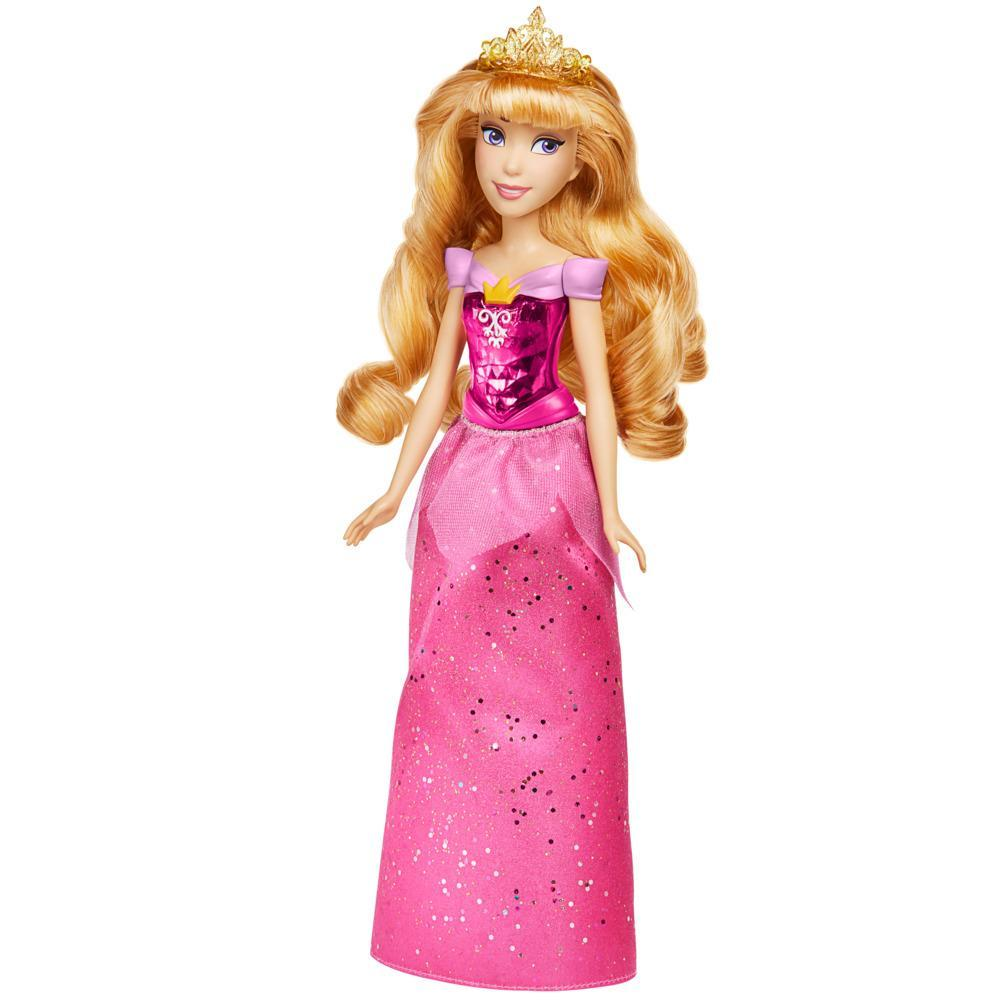 Disney Princess Royal Shimmer Aurora Doll, Fashion Doll with Skirt and Accessories, Toy for Kids Ages 3 and Up